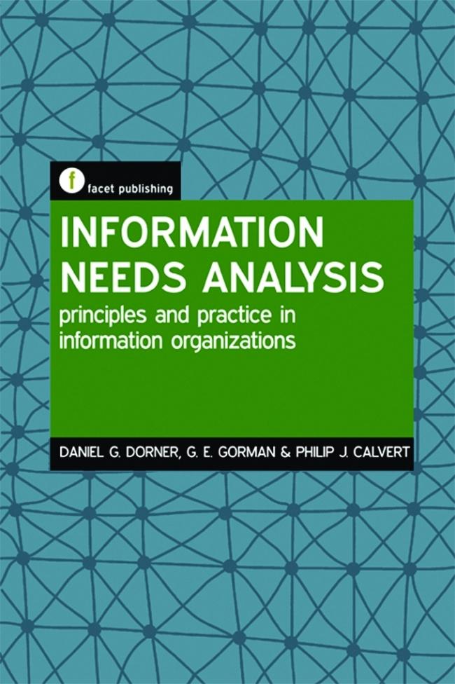 Jacket Image For: Information Needs Analysis