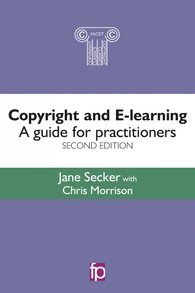 Jacket Image For: Copyright and E-learning