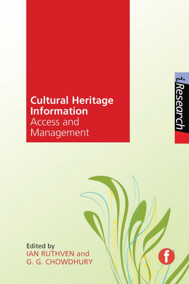 Jacket Image For: Cultural Heritage Information