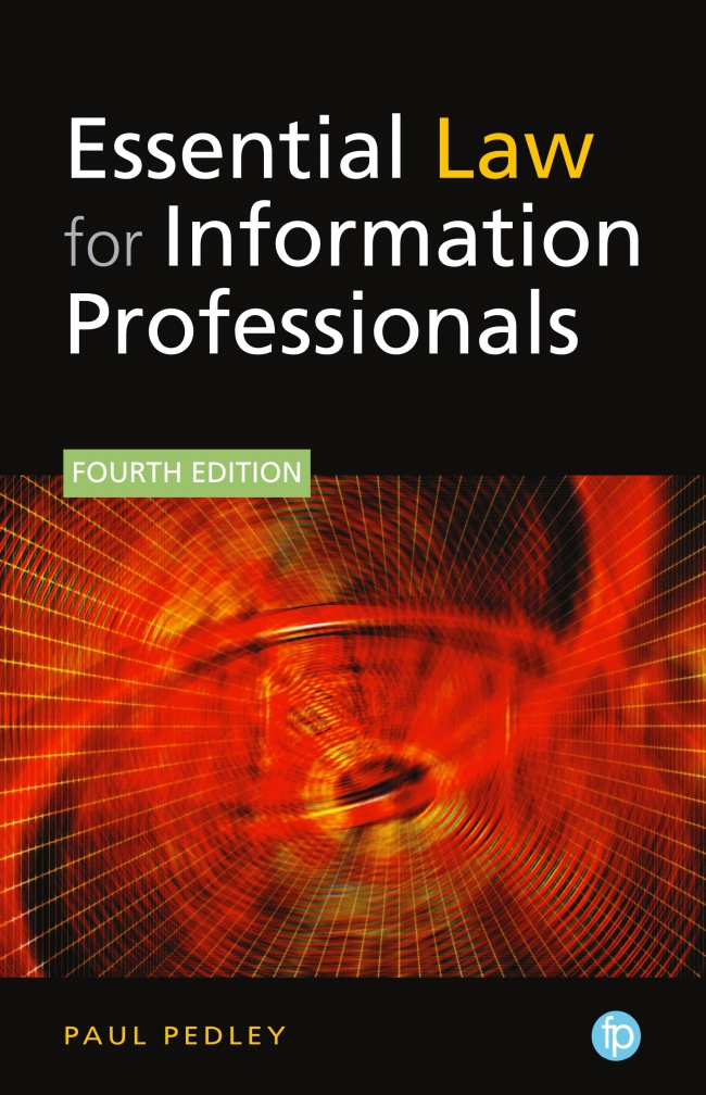 Jacket Image For: Essential Law for Information Professionals