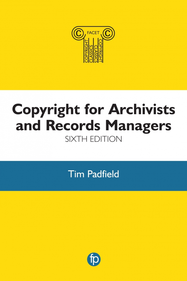 Jacket Image For: Copyright for Archivists and Records Managers