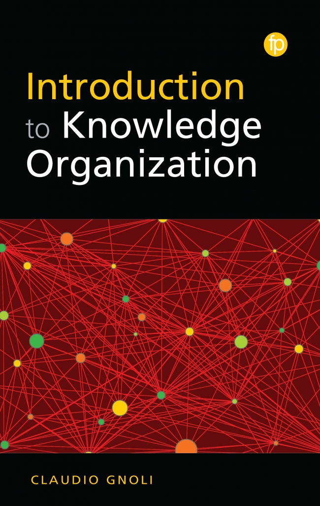 Jacket Image For: Introduction to Knowledge Organization
