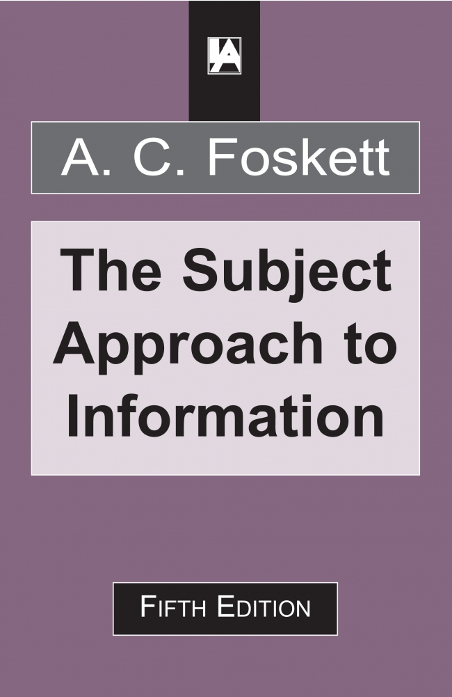 Jacket Image For: The Subject Approach to Information