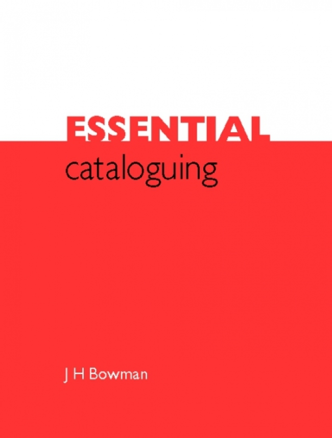 Jacket Image For: Essential Cataloguing