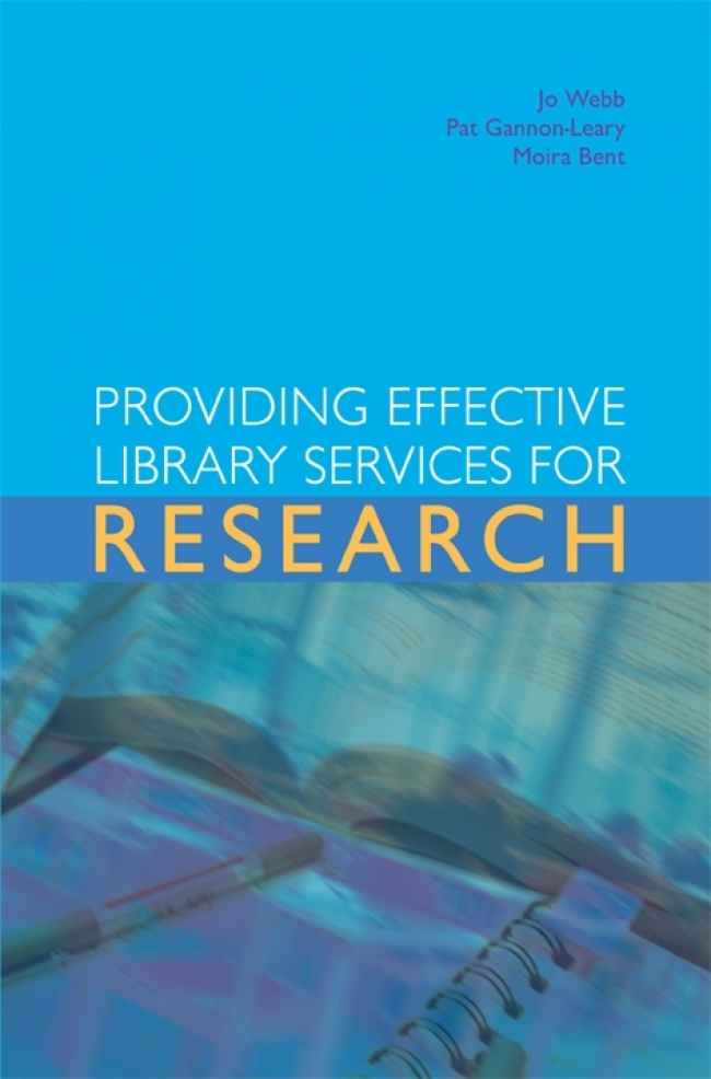 Jacket Image For: Providing Effective Library Services for Research