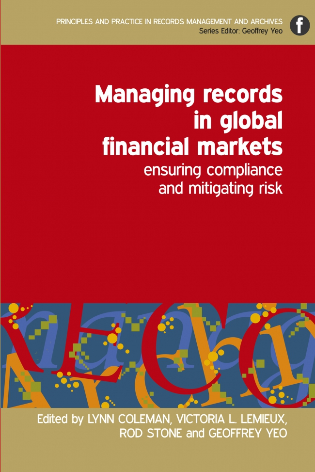 Jacket Image For: Managing Records in Global Financial Markets