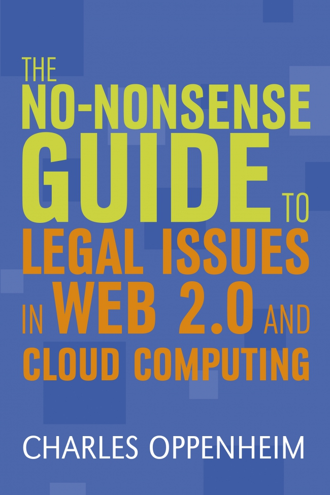 Jacket Image For: The No-nonsense Guide to Legal Issues in Web 2.0 and Cloud Computing