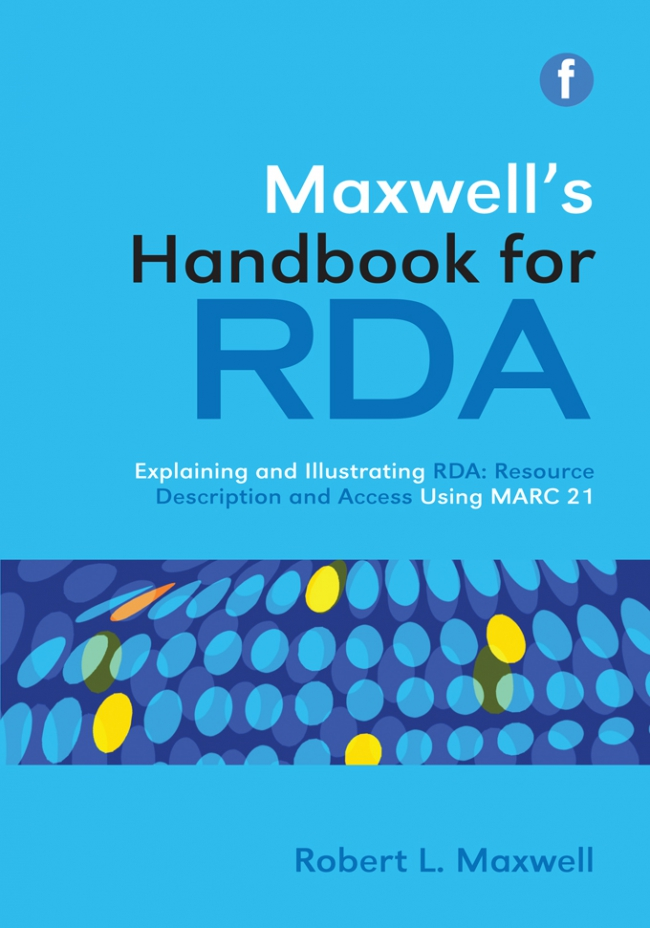 Jacket Image For: Maxwell's Handbook for RDA