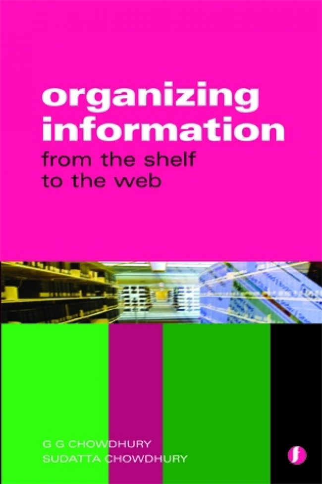 Jacket Image For: Organizing Information