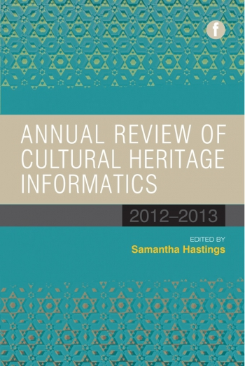 Jacket image for Annual Review of Cultural Heritage Informatics