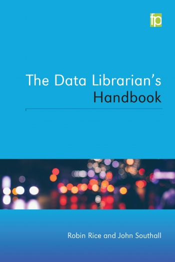 Jacket image for The Data Librarian's Handbook