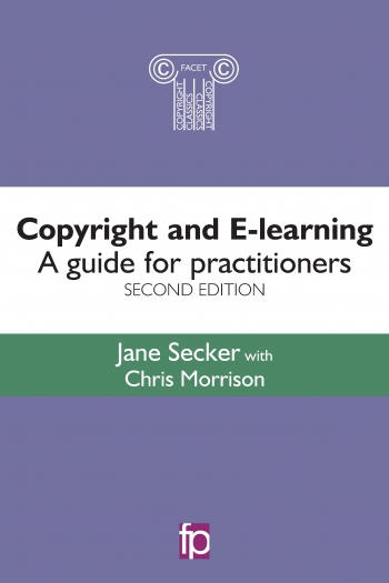 Jacket image for Copyright and E-learning