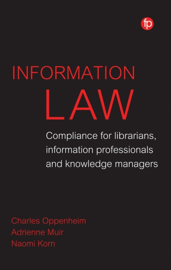 Jacket image for Information Law