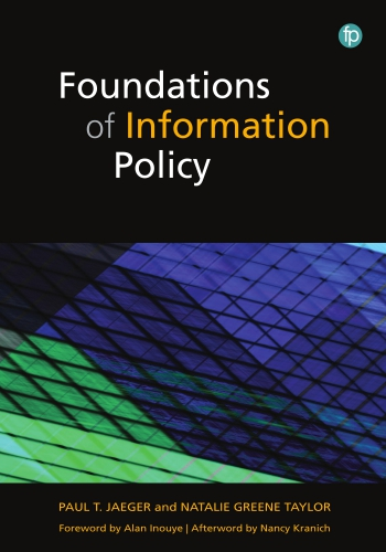Jacket image for Foundations of Information Policy
