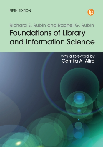Jacket image for Foundations of Library and Information Science