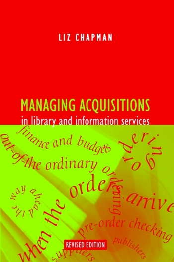 Jacket image for Managing Acquisitions in Library and Information Services