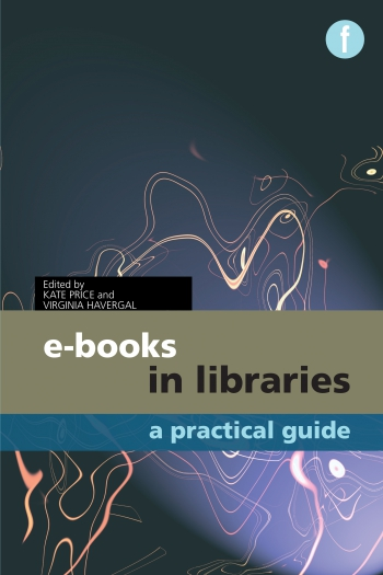 Jacket image for E-books in Libraries