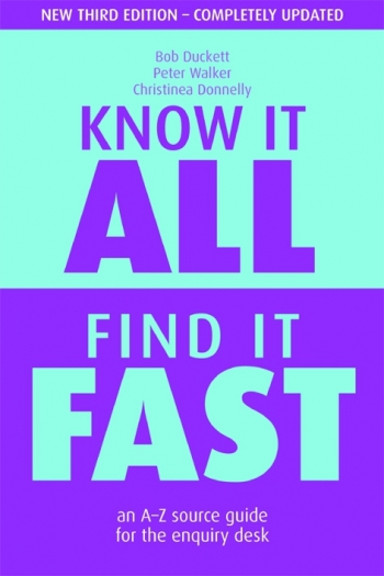 Jacket image for Know it All, Find it Fast
