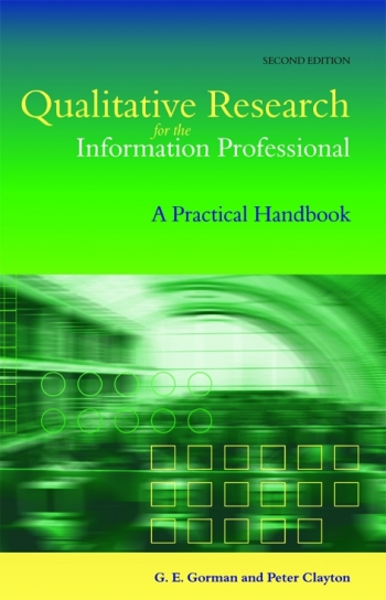 Jacket image for Qualitative Research for the Information Professional