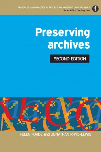 Jacket image for Preserving Archives