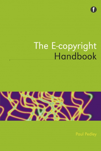 Jacket image for The E-copyright Handbook
