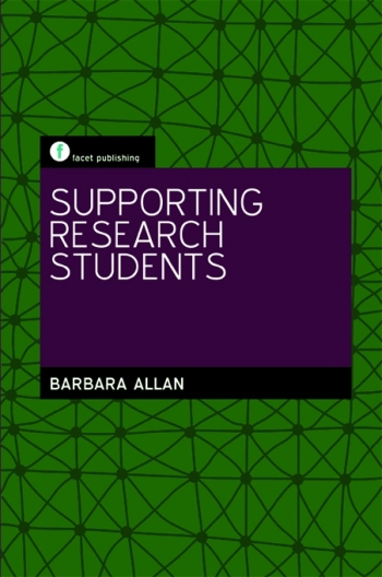 Jacket image for Supporting Research Students