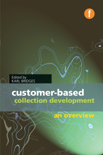 Jacket image for Customer-based Collection Development